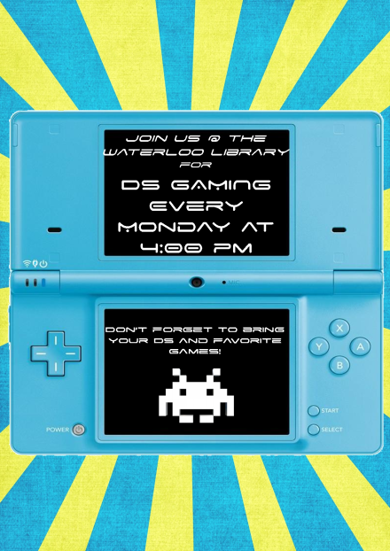 DS GAMING FLYER