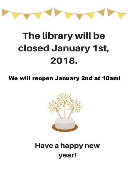 new years closing