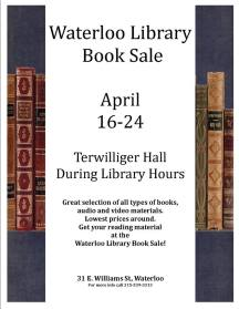 book sale 2018 flyer
